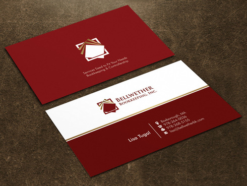 Bellwether Bookkeeping, Inc. Business Cards and Stationery  Draft # 20 by Xpert