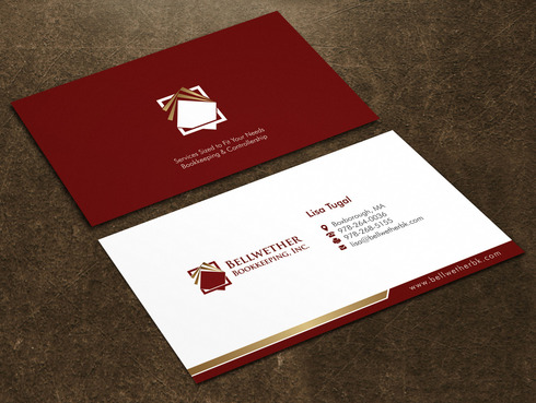 Bellwether Bookkeeping, Inc. Business Cards and Stationery  Draft # 23 by Xpert