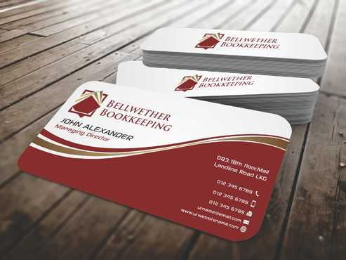 Bellwether Bookkeeping, Inc. Business Cards and Stationery  Draft # 92 by Dawson