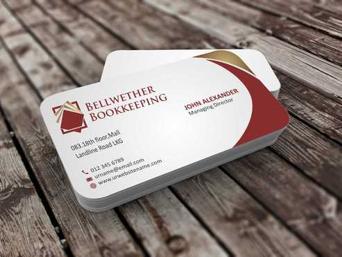 Bellwether Bookkeeping, Inc. Business Cards and Stationery  Draft # 99 by Dawson