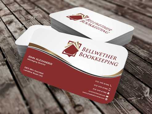 Bellwether Bookkeeping, Inc. Business Cards and Stationery  Draft # 101 by Dawson