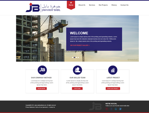 Jawharat babil Web Design  Draft # 2 by sibytgeorge