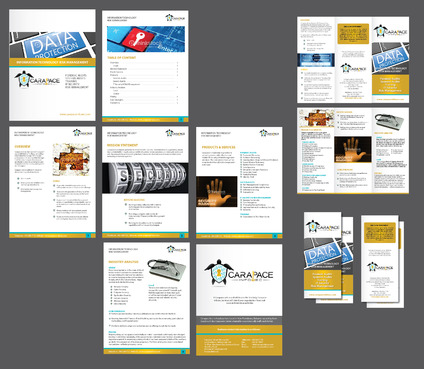 Marketing Material Marketing collateral Winning Design by Achiver
