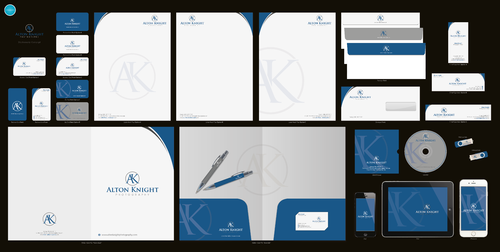Alton Knight Photography Business Cards and Stationery  Draft # 309 by aheadpoint