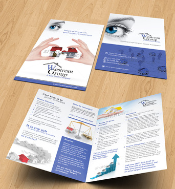 Westrom Group Marketing collateral Winning Design by Achiver