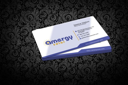 Amergy Solar Business Cards and Stationery  Draft # 305 by nfmdesigner