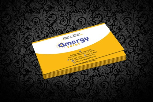Amergy Solar Business Cards and Stationery  Draft # 308 by nfmdesigner