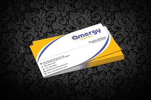 Amergy Solar Business Cards and Stationery  Draft # 309 by nfmdesigner