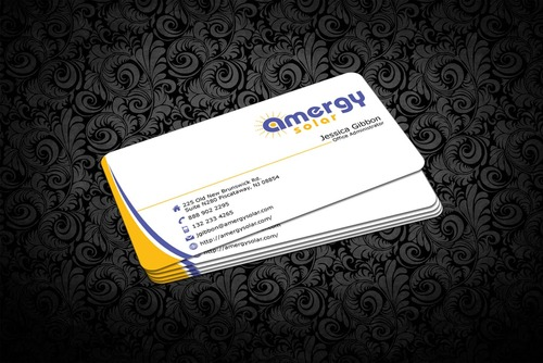 Amergy Solar Business Cards and Stationery  Draft # 310 by nfmdesigner