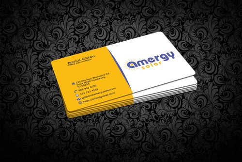 Amergy Solar Business Cards and Stationery  Draft # 312 by nfmdesigner