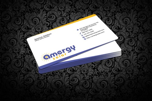 Amergy Solar Business Cards and Stationery  Draft # 314 by nfmdesigner