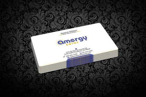 Amergy Solar Business Cards and Stationery  Draft # 315 by nfmdesigner