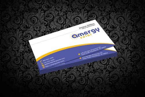 Amergy Solar Business Cards and Stationery  Draft # 319 by nfmdesigner