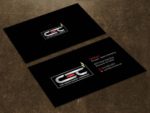 The Cigar Event Company Business Cards and Stationery  Draft # 36 by Xpert