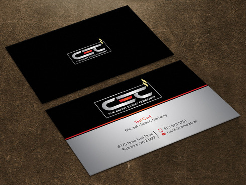The Cigar Event Company Business Cards and Stationery  Draft # 42 by Xpert