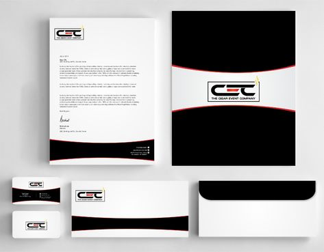 The Cigar Event Company Business Cards and Stationery  Draft # 141 by Dawson