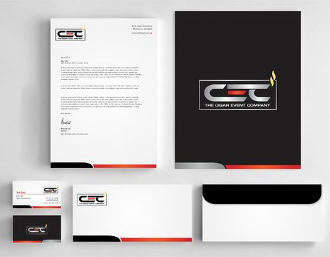 The Cigar Event Company Business Cards and Stationery  Draft # 143 by Dawson