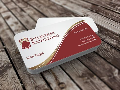 Bellwether Bookkeeping, Inc. Business Cards and Stationery  Draft # 419 by Dawson