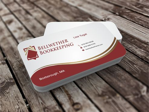 Bellwether Bookkeeping, Inc. Business Cards and Stationery  Draft # 420 by Dawson