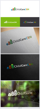 ChildCareCRM Logo Winning Design by alexander-ryashin