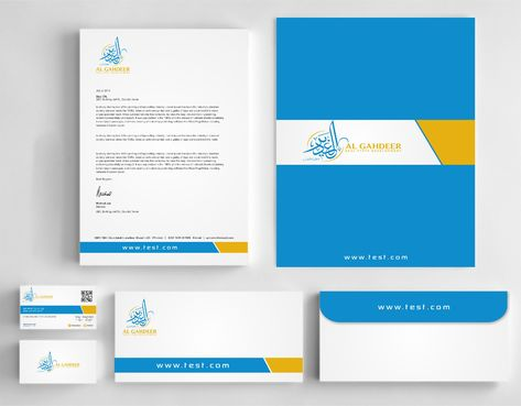 al gahdeer Business Cards and Stationery  Draft # 224 by Dawson