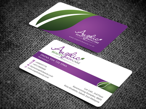 Angelic Beauty Skin Care Business Cards and Stationery  Draft # 119 by einsanimation