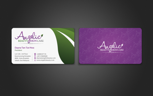 Angelic Beauty Skin Care Business Cards and Stationery  Draft # 131 by einsanimation