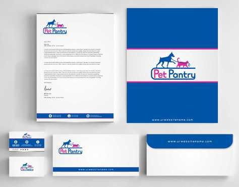 PET PANTRY  Business Cards and Stationery  Draft # 160 by Dawson