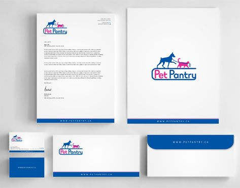 PET PANTRY  Business Cards and Stationery  Draft # 161 by Dawson