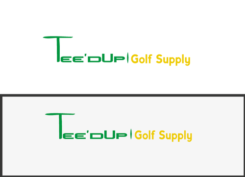 Tee'd Up Golf Supply A Logo, Monogram, or Icon  Draft # 2 by marif786