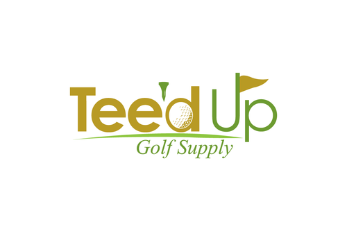 Tee'd Up Golf Supply Logo Winning Design by Noeen