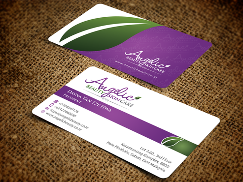 Angelic Beauty Skin Care Business Cards and Stationery  Draft # 223 by einsanimation