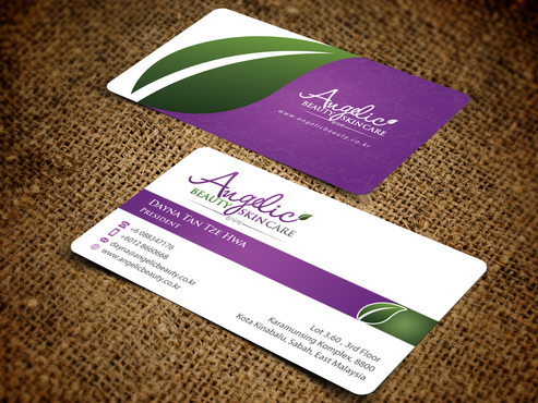 Angelic Beauty Skin Care Business Cards and Stationery  Draft # 225 by einsanimation