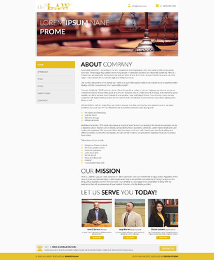 J. Barrera Law  Complete Web Design Solution  Draft # 77 by Huzefa87