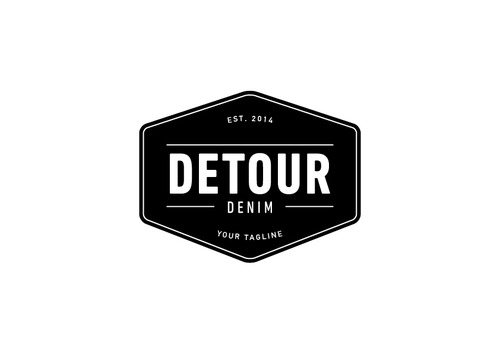 Detour Denim A Logo, Monogram, or Icon  Draft # 15 by sikamcoy222