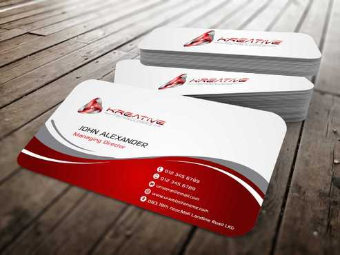 Kreative Technologies Business Cards and Stationery  Draft # 64 by Dawson