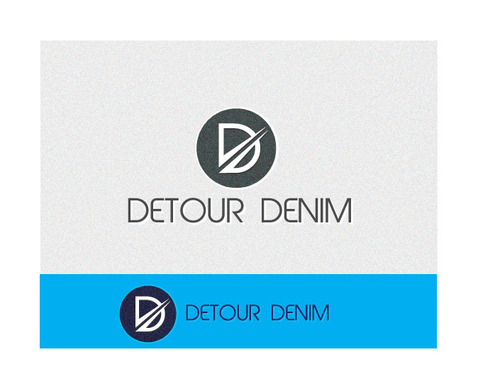 Detour Denim A Logo, Monogram, or Icon  Draft # 45 by NileshSaha