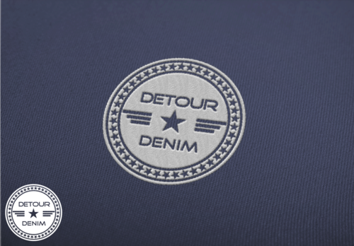 Detour Denim A Logo, Monogram, or Icon  Draft # 103 by krikcrix