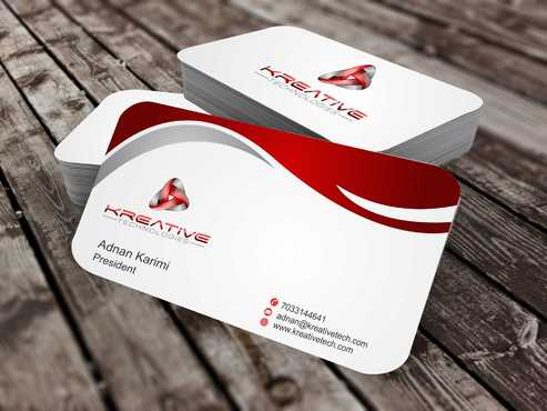 Kreative Technologies Business Cards and Stationery  Draft # 125 by Dawson