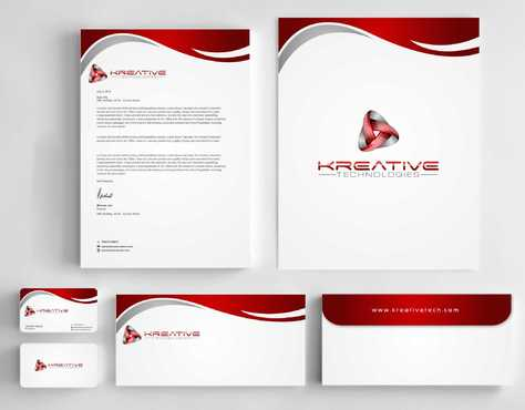 Kreative Technologies Business Cards and Stationery  Draft # 126 by Dawson