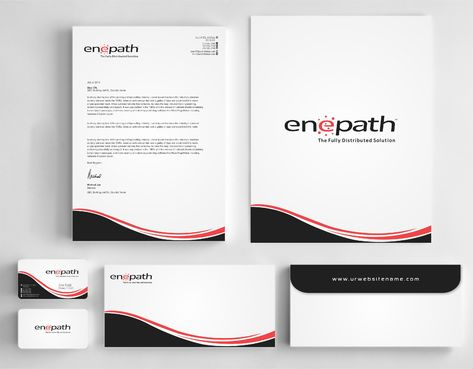 fully distributed  Business Cards and Stationery  Draft # 224 by Dawson