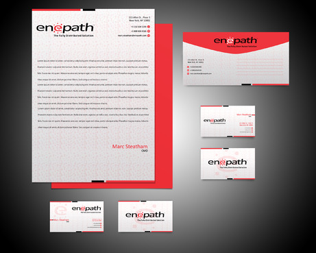 fully distributed  Business Cards and Stationery  Draft # 227 by rasix