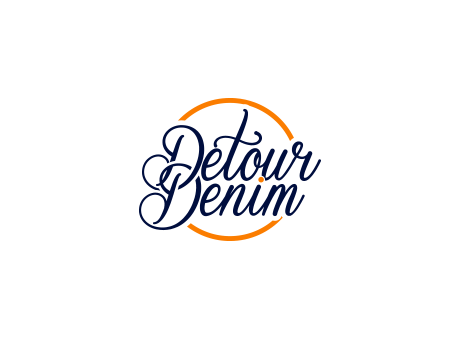 Detour Denim A Logo, Monogram, or Icon  Draft # 135 by falconisty