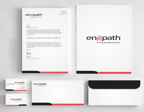 fully distributed  Business Cards and Stationery  Draft # 247 by Dawson
