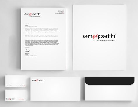 fully distributed  Business Cards and Stationery  Draft # 248 by Dawson