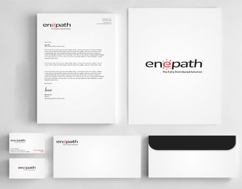 fully distributed  Business Cards and Stationery  Draft # 249 by Dawson