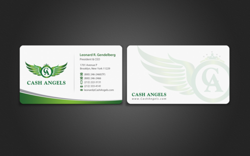 Cash Angels Business Cards and Stationery  Draft # 492 by einsanimation