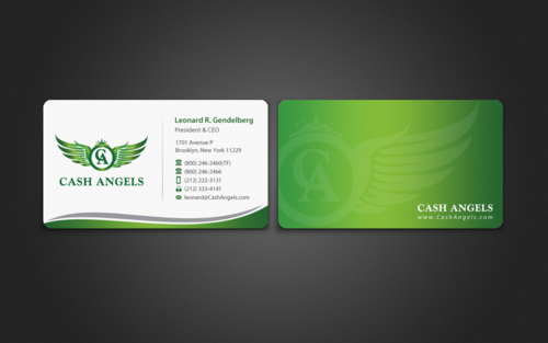 Cash Angels Business Cards and Stationery  Draft # 495 by einsanimation