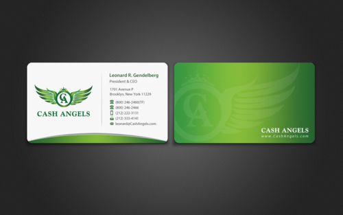 Cash Angels Business Cards and Stationery  Draft # 496 by einsanimation