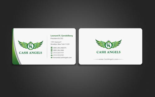 Cash Angels Business Cards and Stationery  Draft # 497 by einsanimation